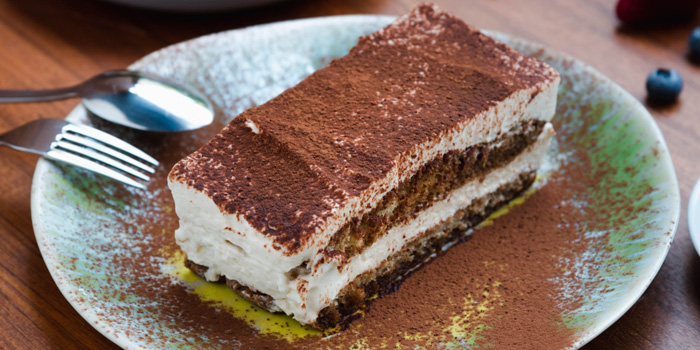 Tiramisu from Al Dente at The Commons, Village Floor 55 Sukhumvit Rd, Soi Thonglor 17 Bangkok
