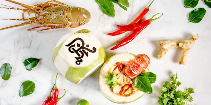 Tom Yum Phuket Lobster from VIU at The St Regis Bangkok 159 Soi Mahardlek Luang 2 Rajadamri Road, Pathumwan Bangkok