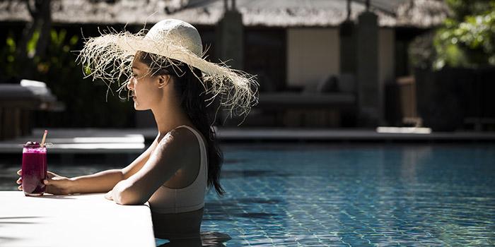 Pool from Nutrio Restaurant, Nusa Dua, Bali
