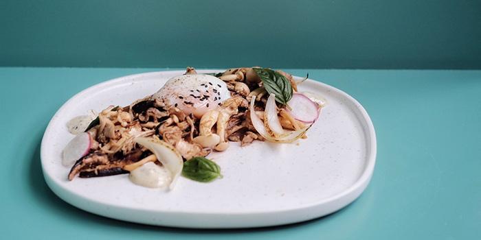 64 Degree Eggs Truffle Mushroom Toast at Ottoman