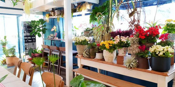 Ambience of Met Cafe at 918 Soi thonglor sukhumvit 55 Klongton nue, khet wattana Bangkok