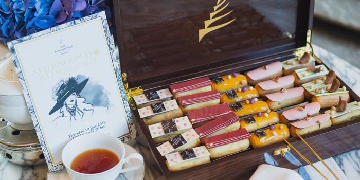 Afternoon Tea from Hanuman Bar at Siam Kempinski Hotel, Bangkok