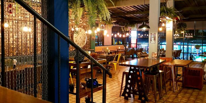 Ambiance of The Zula Phuket Turkish Restaurant & Cafè Patong in Patong, Phuket, Thailand.