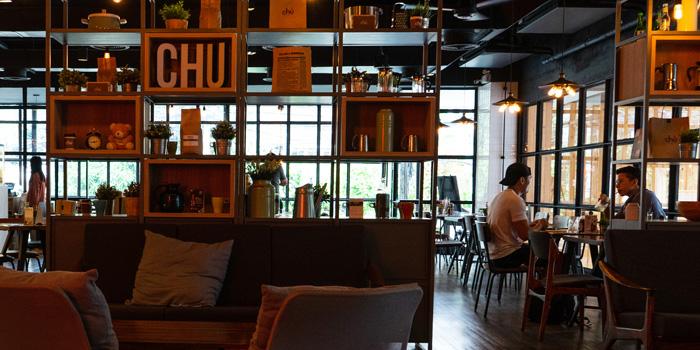 Ambience of Chu Chocolate Bar and Cafe (Sathon) at Naradhiwas Rajanagarindra 3 Khwaeng Silom, Khet Bang Rak Bangkok