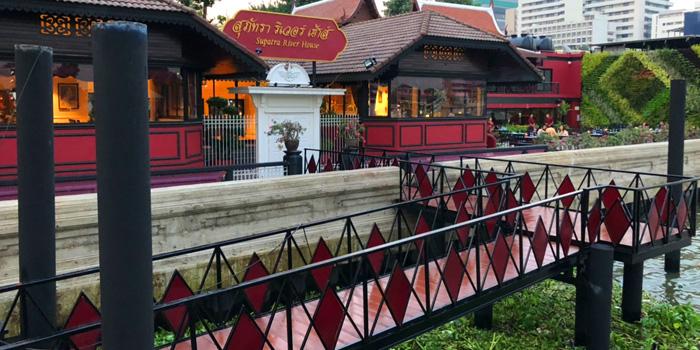 Ambience of Supatra River House at 266 Soi Wat Rakhang Arunamarin Road Siriraj, Bangkok Noi Bangkok