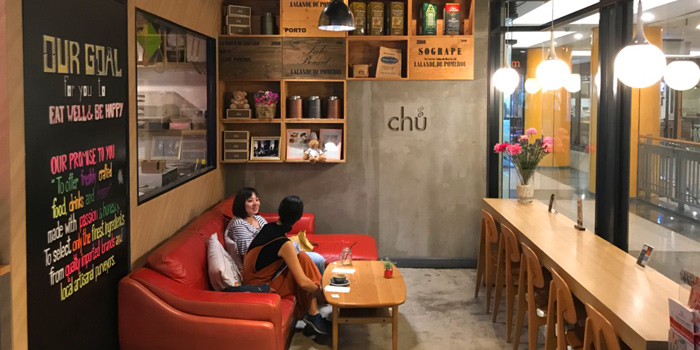 Ambience of Chu Chocolate Bar and Cafe (Asoke) at 388 Exchange Tower Sukhumvit Rd, Khlong Toei Bangkok