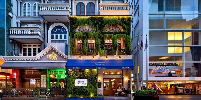 Entrance from The Bar Upstairs at 3rd Floor Brasserie Cordonnier 32 Soi Sukhumvit 11,Khlong Toei Nuea Bangkok