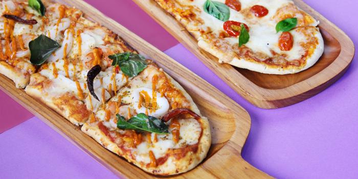 Artisan Pizza from WOOBAR at W Hotel 106 North Sathorn Rd Silom, Bangrak Bangkok