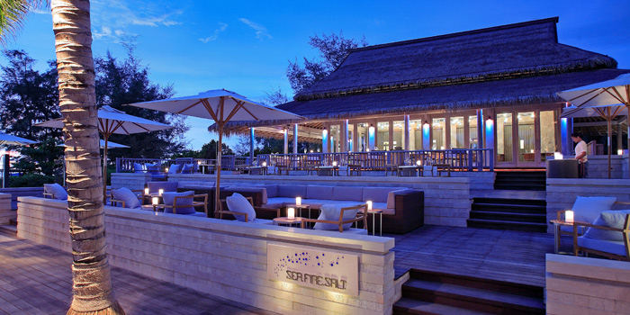 Restaurant Atmosphere of Sea Fire Salt at Anantara Maikhao Resort, Phuket, Thailand.