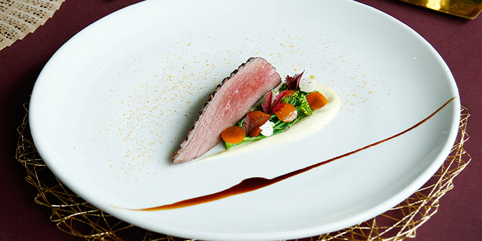 Smoked Duck (18 Jan to 19 Feb) from Aura at National Gallery Singapore in City Hall, Singapore