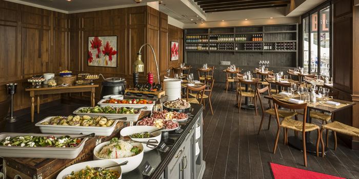 Buffet Table, BLT Steak, Tsim Sha Tsui, Hong Kong