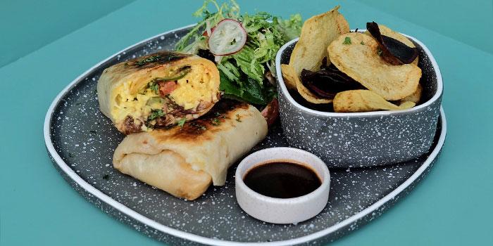 Breakfast Grilled Short Ribs Burrito at Ottoman