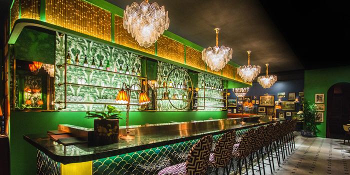 Bar Area of Tenshino at Pullman Bangkok King Power Hotel 8/2 Rangnam Road Thanon-Phayathai, Ratchathewi, Bangkok