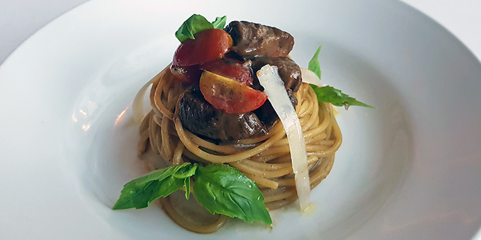 Beef Cube Spaghetti from Lawry