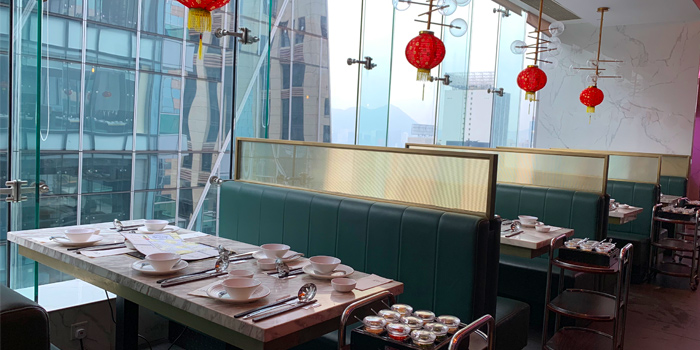 Booth, 101 Grill Bar + Hotpot, Causeway Bay, Hong Kong
