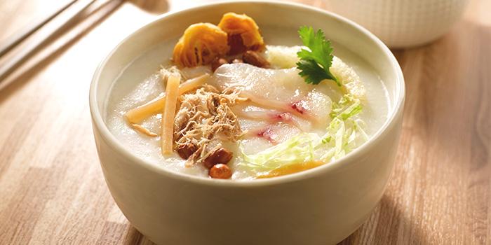 Classic Ting Zai Congee from Crystal Jade Hong Kong Kitchen (Plaza Singapura) in Dhoby Ghaut, Singapore