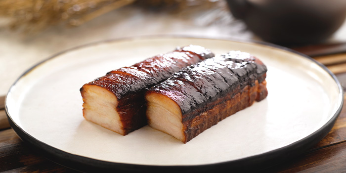 Signature Pork Belly from Crystal Jade Kitchen (Plaza Singapura) in Dhoby Ghaut, Singapore