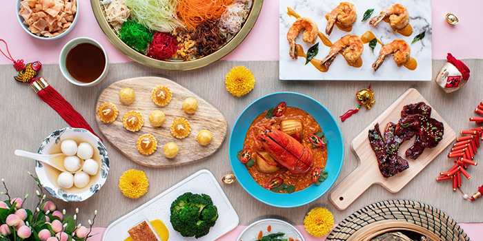 Chinese New Year Food Spread (22 Jan to 19 Feb) from Sky22 at Courtyard by Marriott Singapore Novena in Novena, Singapore