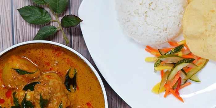 Curry Chicken from Three Degree Cafe at NTU Alumni Club in Buona Vista, Singapore