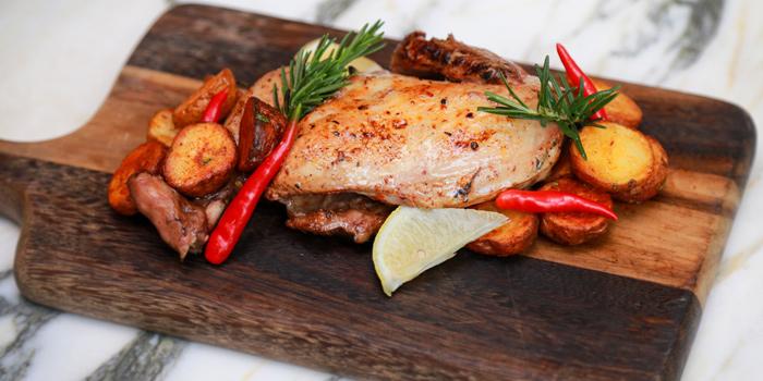 Whole Chicken from Scalini at Hilton Sukhumvit Hotel, on Sukumvit Soi 24