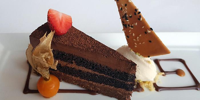 Chocolate Praline Cake from Lawry