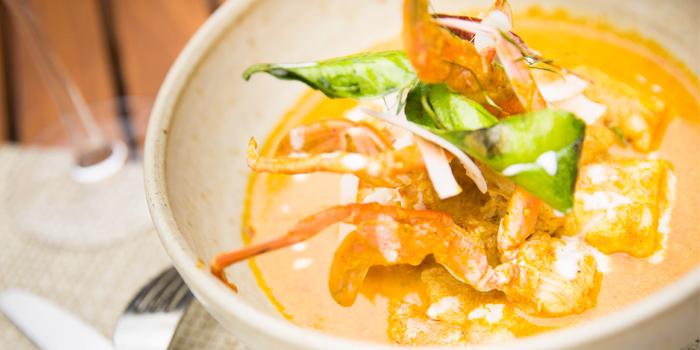 Choo Chee Pla Kra Pong Dang from Sea Food at Trisara in Cherngtalay, Phuket, Thailand