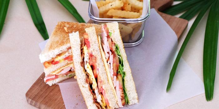 Club Sandwich  from Bambu Restaurant in Chalong, Phuket, Thailand