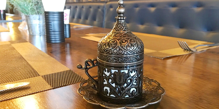 Turkish Coffee from  The Zula Phuket Turkish Restaurant & Cafè Patong in Patong, Phuket, Thailand.