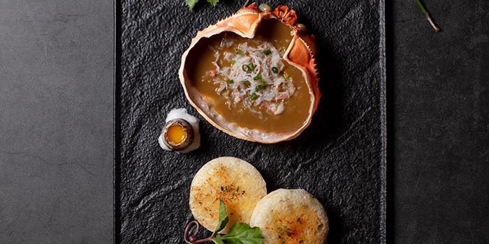 Crab Meat in Miso Paste, Sanwa Jo, Kowloon City, Hong Kong