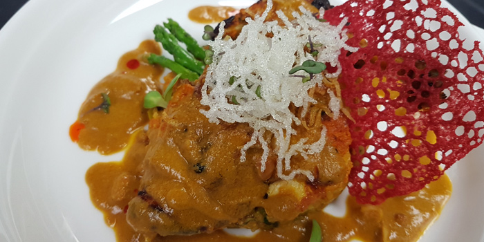 Curry Leaf Chicken Breast from Maya Restaurant & Bar at Holiday Inn Sukhumvit, Bangkok
