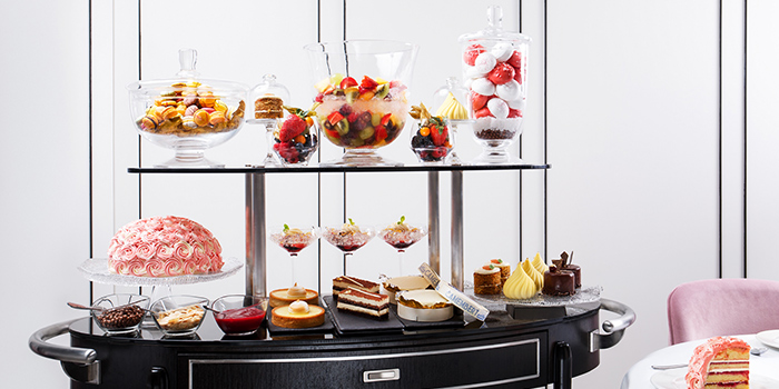 Dessert Trolley from Tablescape Restaurant & Bar at Grand Park City Hall in City Hall, Singapore