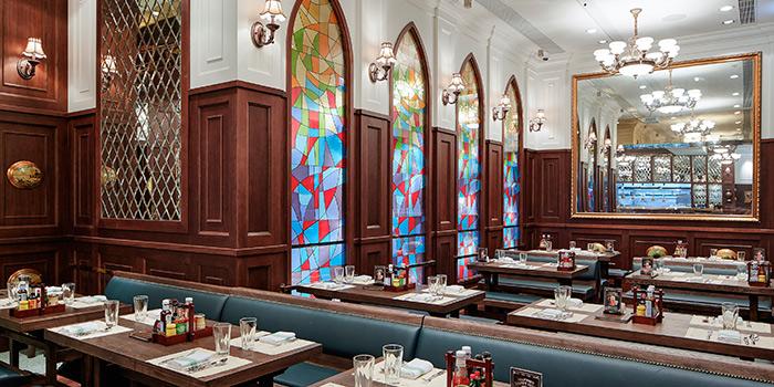 Dining Area, FRITIES Belgium on Tap, Causeway Bay, Hong Kong