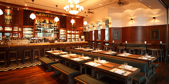 Dining Area, FRITIES Belgium on Tap, Quarry Bay, Hong Kong