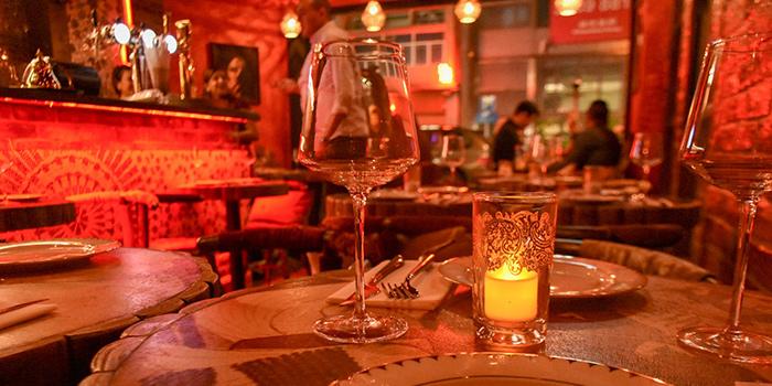 Dining Area, Zooba Bar & Grill, Tsim Sha Tsui, Hong Kong