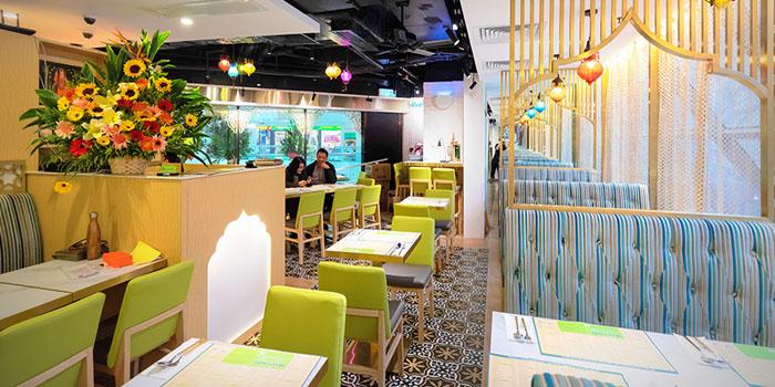 Dining Area, Woodlands Indian Vegetarian Restaurant, Tsim Sha Tsui, Hong Kong