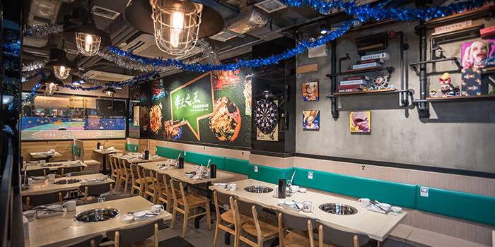 Dining Area, King of Stick Hot Pot, Tsim Sha Tsui, Hong Kong