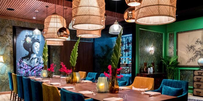 Dining Area of Tenshino at Pullman Bangkok King Power Hotel 8/2 Rangnam Road Thanon-Phayathai, Ratchathewi, Bangkok