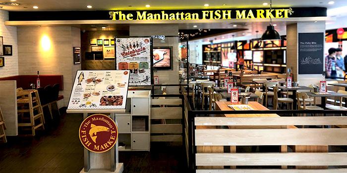 Exterior of The Manhattan Fish Market (Marina Square) in City Hall, Singapore