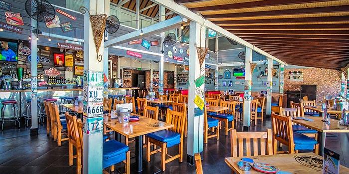 Interior 1 at Bubba Gump, Kuta
