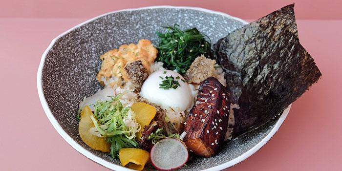 Flash Grill Miso Salmon at Ottoman