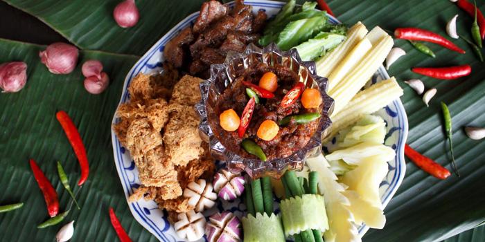 Fried Chili Paste from Supatra River House at 266 Soi Wat Rakhang Arunamarin Road Siriraj, Bangkok Noi Bangkok