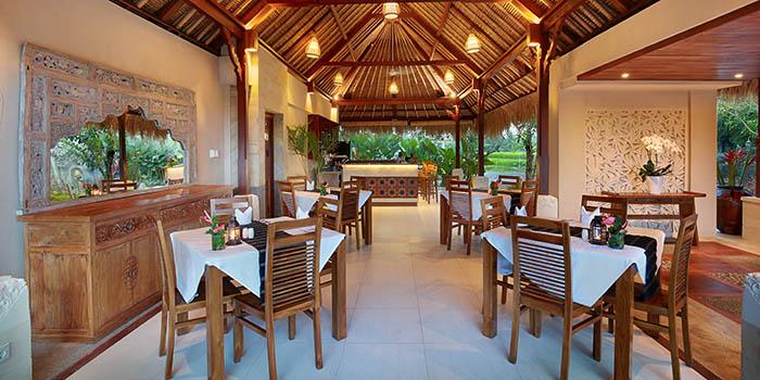 Interior from The Amateras Restaurant, Ubud, Bali