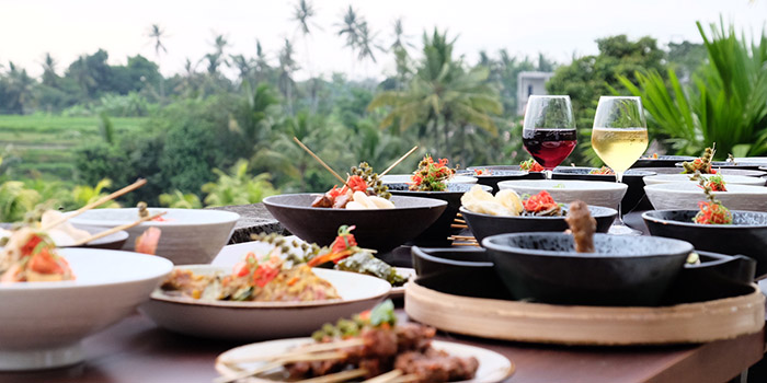 Food from Mr Wayan, Ubud, Bali