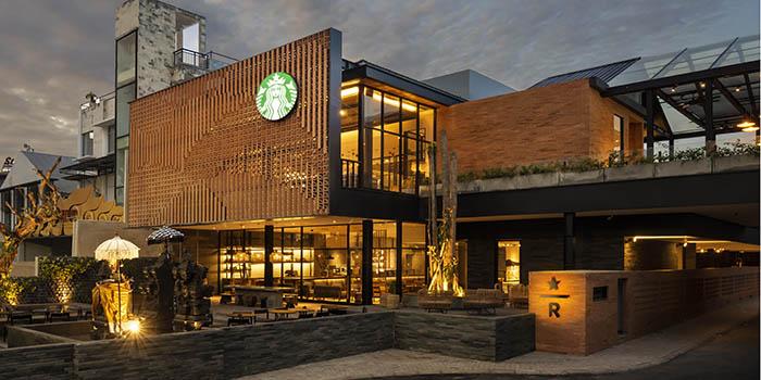 Interior from Starbucks Reserve Dewata, Seminyak, Bali