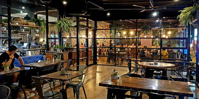 Indoor of The Zula Phuket Turkish Restaurant & Cafè Patong in Patong, Phuket, Thailand.