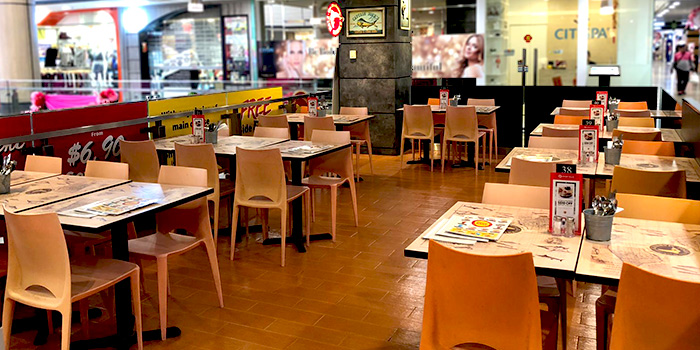 Interior of The Manhattan Fish Market (Northpoint) in Yishun, Singapore