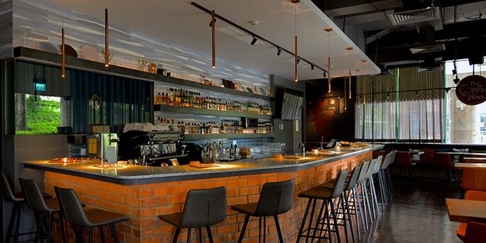 Interior from Copper in Orchard, Singapore