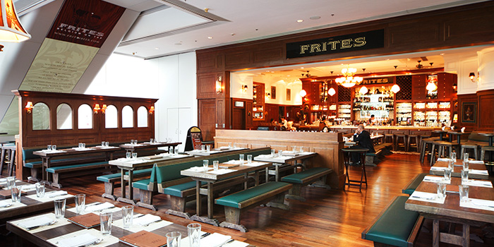 Interior, FRITIES Belgium on Tap, Quarry Bay, Hong Kong