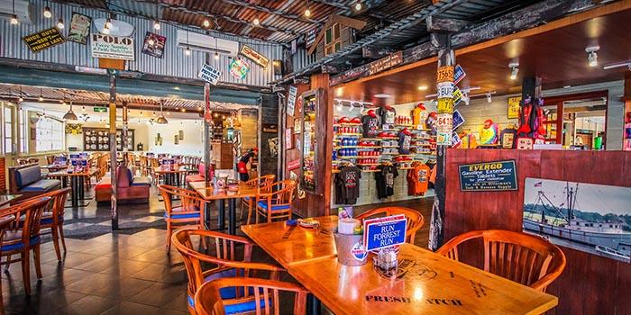 Interior 2 at Bubba Gump, Kuta