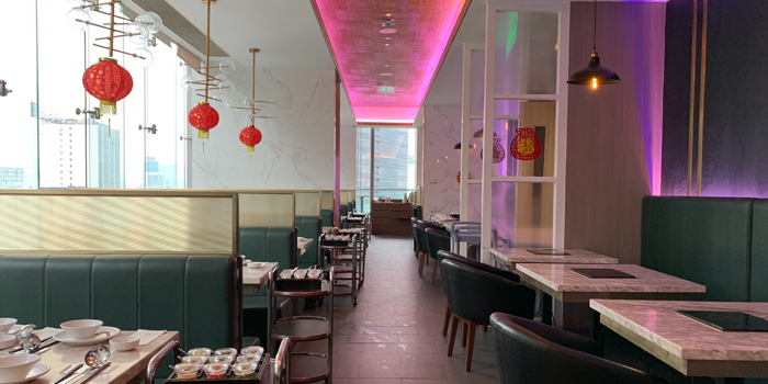 Interior, 101 Grill Bar + Hotpot, Causeway Bay, Hong Kong
